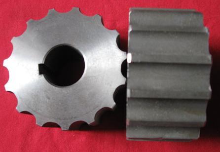 碳钢链轮(不锈钢链板配套)