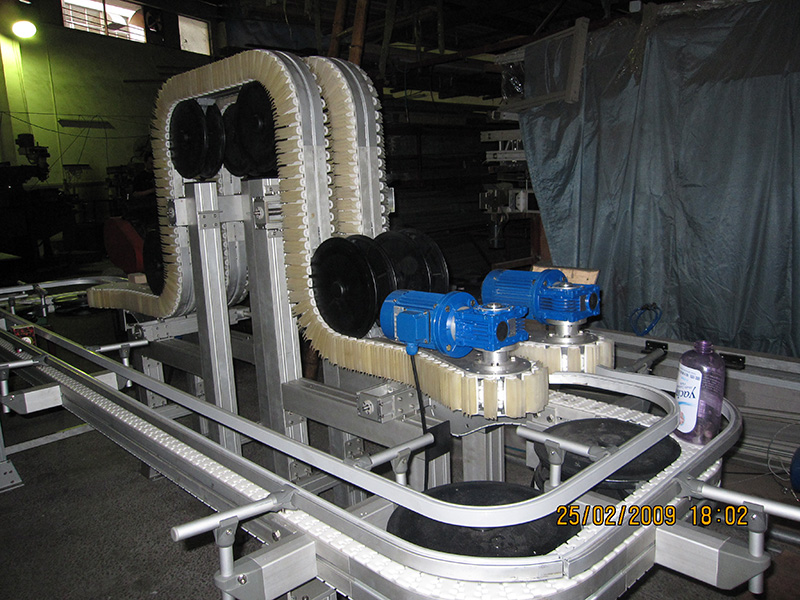 柔性链板输送系统