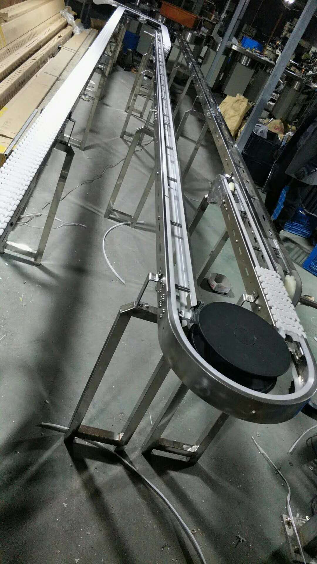 齒形鏈輸送機